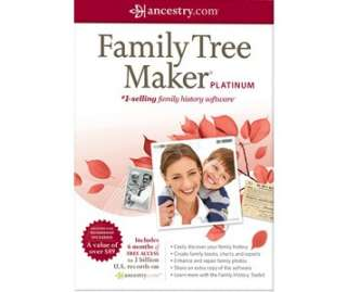 Family Tree Maker 2011 Platinum   Buy from Microsoft Store   Microsoft