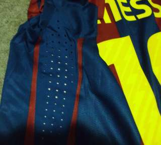 BARCELONA VS REAL MADRID LIONEL MESSI JERSEY NO MATCH WORN PLAYER