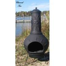 The Blue Rooster Company?Sun Ray Chiminea Outdoor Fireplace?