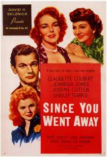 Since You Went Away Movie Posters From Movie Poster Shop
