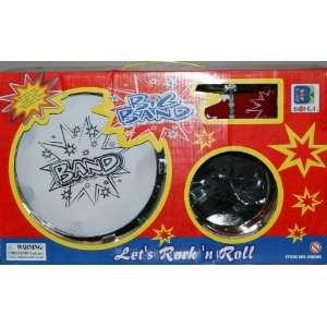 Toy Kids Big Band Drum Set Toy Drum lets Rock N Roll Toys & Games