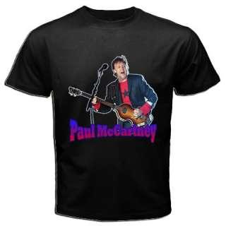PAUL MCCARTNEY BEATLES POP MUSIC HOT RARE T SHIRT TEE