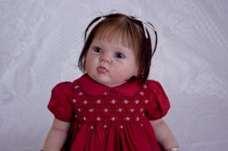 Reborn Vinyl Doll Kit Supply Baby Cuddles Donna RuBert