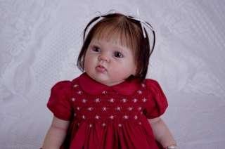 Reborn Vinyl Doll Kit Supply Baby Cuddles Donna RuBert