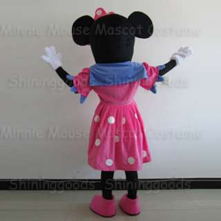 Cartoon Costume Minnie Mouse Outfit Mascot Costume Adult Brand New