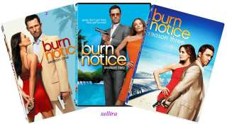 New Burn Notice The Complete Season 1 2 3, Seasons 1 3