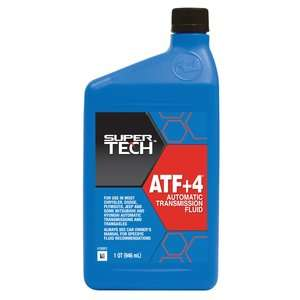 Super Tech ATF Plus 4 Automatic Transmission Fluid, 1 qt Automotive