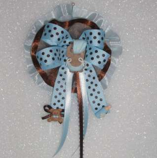 BABY SHOWER CORSAGES AFRICAN AMERICAN FAVOR GIFT CAKE