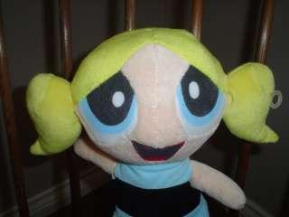PowerPuff Girls Bubbles Stuffed Velvet Doll 13 Inch