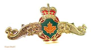Canada Royal Canadian Forces Navy Submariner Officer Medium Metal