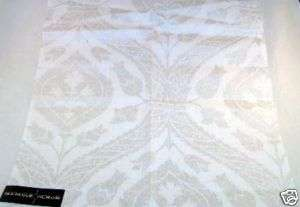 NEW! Candice Olson Collection Fabric Brocade Platinum!