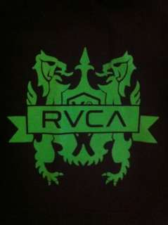 RVCA Vitor Belfort UFC 142 Walk Out Shirt Black Green Size Large ( L