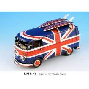 Union Jack Camper Van   (LP14144) [Kichen & Home] Home