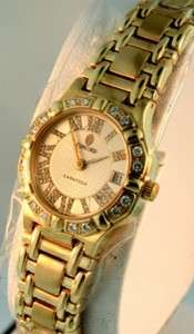 Concord Saratoga 18K Gold Diamond and Mother of Pearl Dial ladies