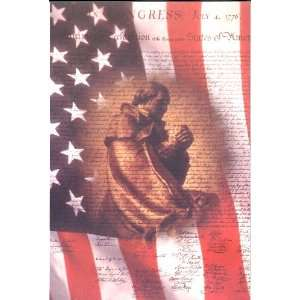 Church Bulletin   50 Pack   Patriotic, July 4th: Office
