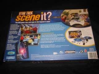 STAR TREK Scene It DVD Game Trivia TV Movie Clips NEW