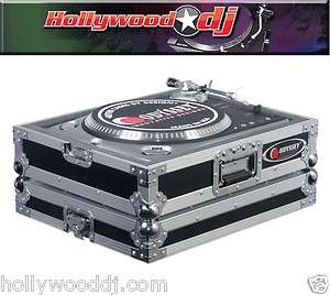 Technics 1200 Stlye Flight Ready DJ Turntable Case **NEW**