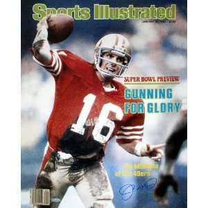 Joe Montana San Francisco 49ers   Sports Illustrated Cover   16x20