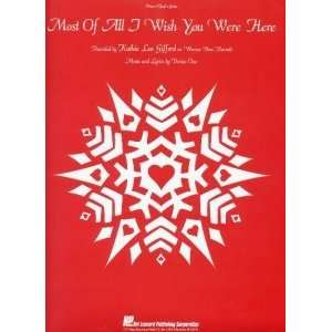 Most Of All I Wish You Were Here Recorded by Kathie Lee Gifford on