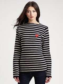 Comme des Garcons Play   Boyfriend Sweater