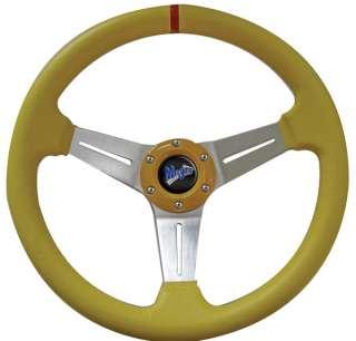 14 Classic Series Steering Wheel Kit w/Hub Adapter for EZ GO TXT/RXV