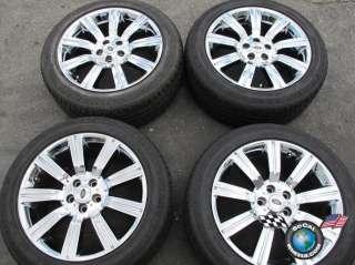 Rover Sport Factory 20 Chrome Wheels Tires Stormer 72200 OEM Rims