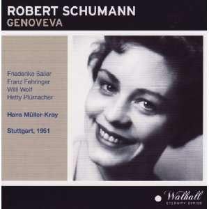 Schumann Genoveva (Stuttgart, 1951) Robert Schumann, Hans Müller