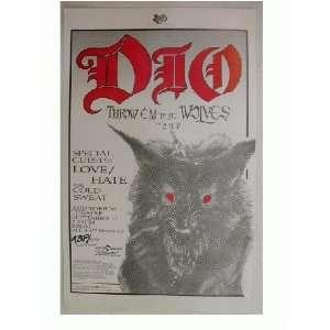 2 Ronnie James Dio Handbill Poster Rainbow Ex Everything