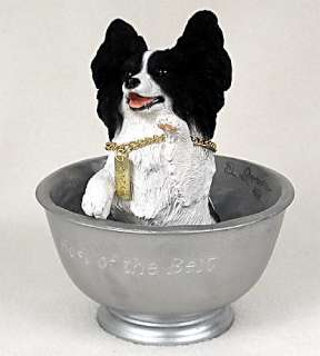 Papillon Statue Figurine Home,Yard & Garden Decor. Dog Products & Dog