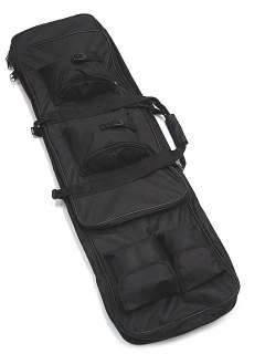 40 Dual Tactical Rifle Sniper Carrying Case Gun Bag BK