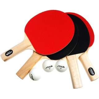 Stiga Classic 4 Player Table Tennis Set