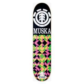 Element Skateboards Muska Chroma Deck  7.75 Push: Sports