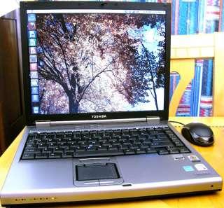 TOSHIBA TECRA M5 LAPTOP DUAL CORE 500GB 4GB DVD UBUNTU LINUX / 3 YEAR