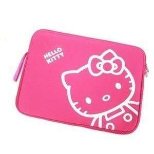 10 inch Cute Pink Hello Kitty Style Laptop Case/Bag