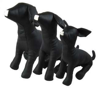 Dog toy, Dog/Pet Black Leather Dog Mannequins SET 001D
