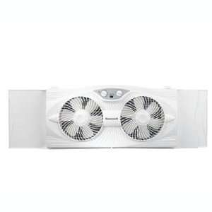 HW Twin Window Fan 2 speed Electronics