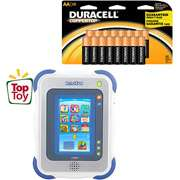 VTech InnoTab Learning App Tablet and Duracell Battery Stockup Bundle