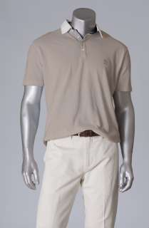 pique cotton Brunello Cucinelli polo shirt with embroidered logo
