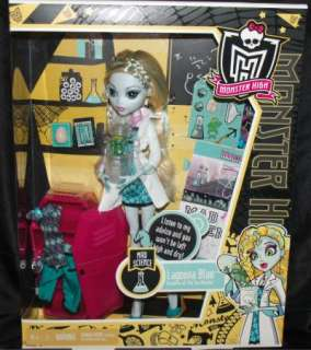 New Monster High Lagoona Blue Mad Science Doll 746775039929