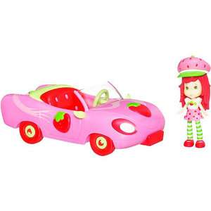 Strawberry Shortcake Sweet Roadster with Doll Dolls