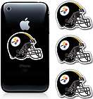 Pittsburgh Steelers Helmet NFL Football Cell Phone Decal Sticker