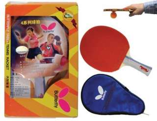 NEW BUTTERFLY 401 SHAKEHAND TABLE TENNIS RACKET