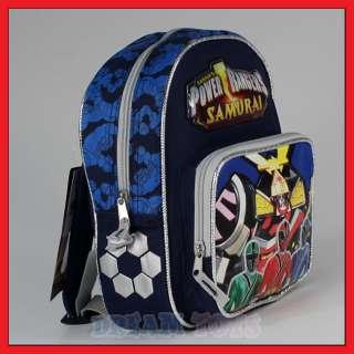 10 Power Rangers Samurai Small Backpack Bag Toddler