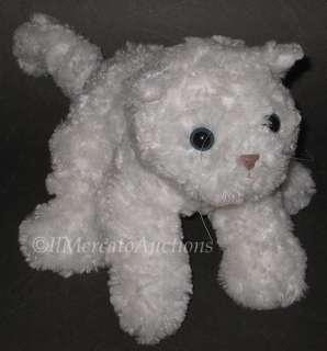 GUND SOOKIE Plush White Kitty Cat 11003 Stuffed Animal Toy Kitten