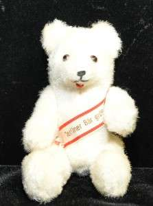 Straw Stuffed Antique vintage Teddy Bear jointed rare german tag toy