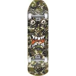 Santa Cruz Roskopp Face Camo Complete Skateboard   9.5x31