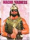 WWE Macho Man Randy Savage 1989 Wrestling Postcard