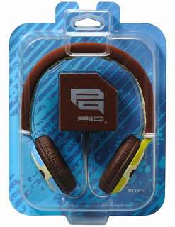 Q43 New Sony PIIQ MDR PQ2 On Ear Stereo Headphones for iPhone/iPod