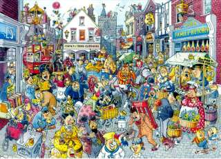 WASGIJ? High St Hustle Art Graham Thompson1000 Pc Jigsaw Puzzle