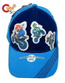 Nintendo Wii Super Mario Kart Adjust Baseball Cap/Hat